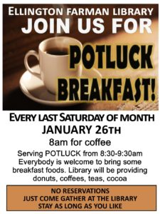 Potluck Breakfast at the Library