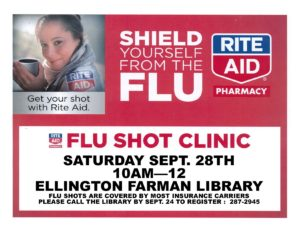 Flu Shot Clinic @ Ellington Farman Library
