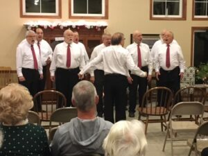 Holiday Concert: Jamestown Harmony Express @ Ellington Farman Library