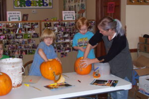 Past Halloween Programs at the Library